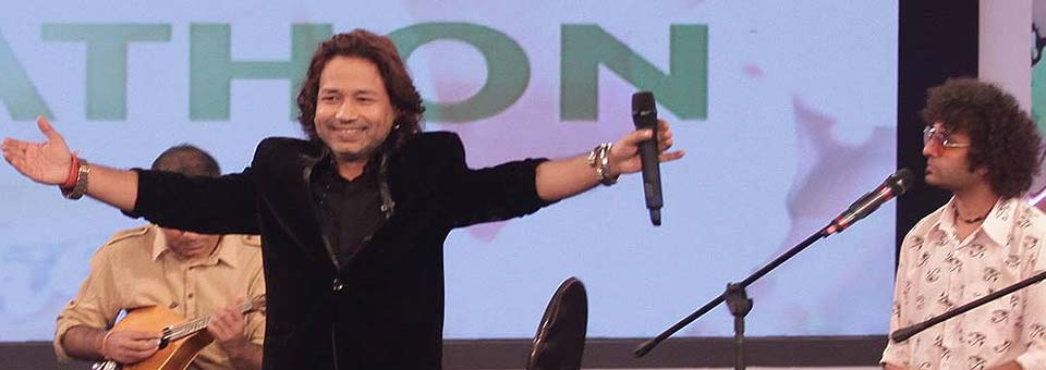 Music for a Cause:  Kailash Kher's Soulful Performance at the Cleanathon